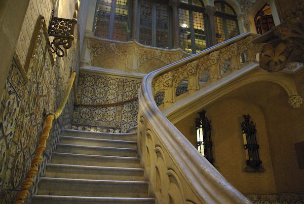 Lobby of Casa Asia, Barcelona